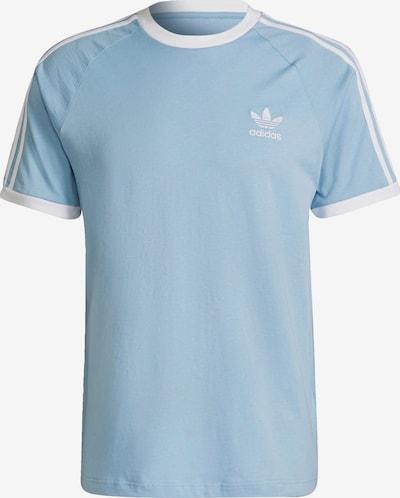 ADIDAS ORIGINALS T-Shirt 'Adicolor' in hellblau / weiß, Produktansicht