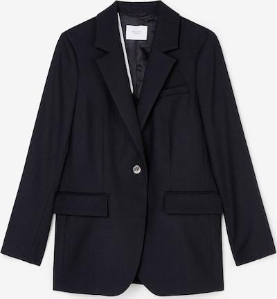 Marc O'Polo Pure Blazer in schwarz: Frontalansicht