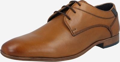 ABOUT YOU Chaussure à lacets 'Hendrik' en marron / cognac, Vue avec produit