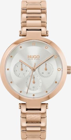 HUGO Montre à affichage analogique en or rose, Vue avec produit