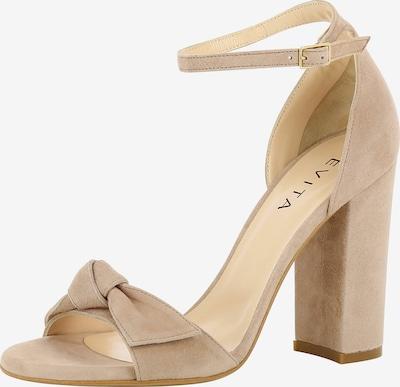 EVITA Damen Sandalette EVA in nude, Produktansicht
