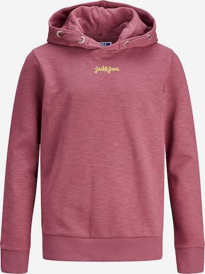 Jack & Jones Junior Sweat en jaune / rose ancienne, Vue avec produit