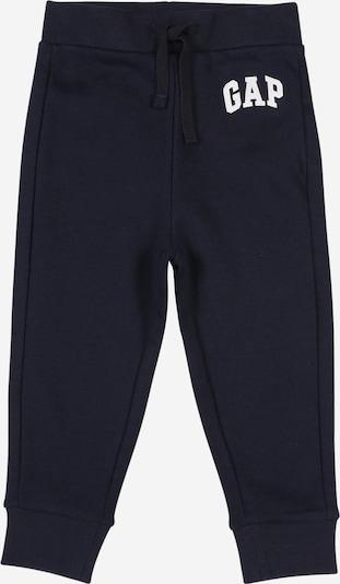 GAP Broek 'FRANCH' in de kleur Donkerblauw / Wit, Productweergave