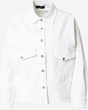 Zwillingsherz Between-Season Jacket 'Verona' in White
