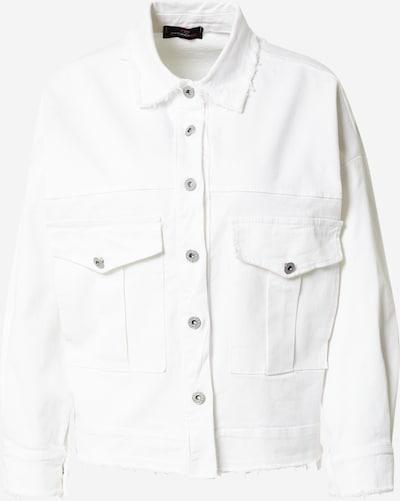 Zwillingsherz Tussenjas 'Verona' in de kleur Wit, Productweergave
