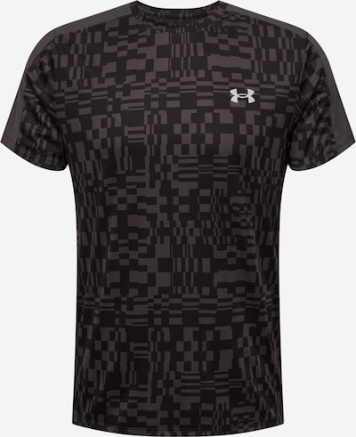 UNDER ARMOUR Functioneel shirt 'SPEED STRIDE' in de kleur Taupe / Antraciet / Wit, Productweergave