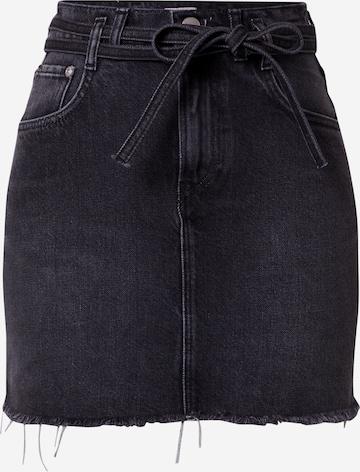 Pepe Jeans Rok 'RACHEL' in Zwart