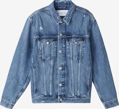 Calvin Klein Jeans Between-season jacket in blue denim, Item view
