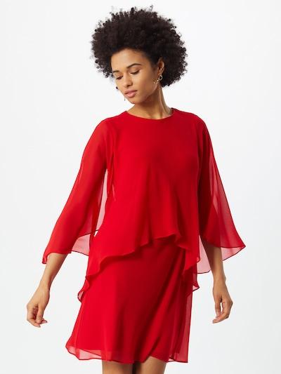 Rochie 'CASSIE' Lauren Ralph Lauren pe roșu, Vizualizare model