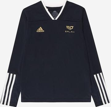 melns ADIDAS PERFORMANCE Sporta krekls 'SALAH'