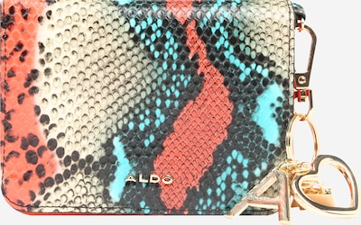 ALDO Wallet 'DWENDASSA' in Blue / Coral / White, Item view