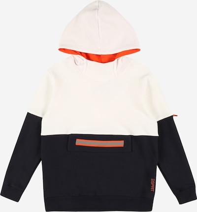 ESPRIT Sweatshirt in nachtblau / dunkelorange / weiß, Produktansicht