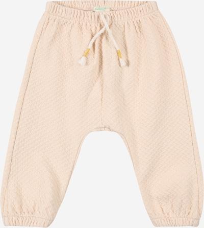 Pantaloni UNITED COLORS OF BENETTON pe roz pudră, Vizualizare produs