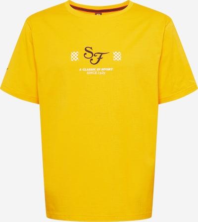 PUMA Performance Shirt in Yellow / Black / White, Item view