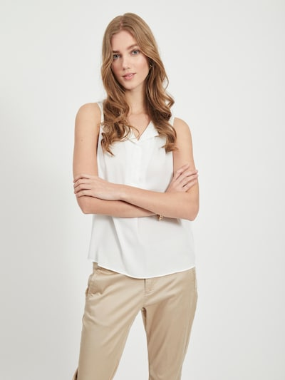 VILA Blusentop in offwhite, Modelansicht