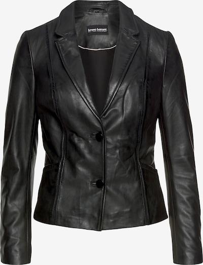 BRUNO BANANI Lederjacke in schwarz, Produktansicht