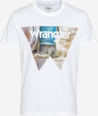 WRANGLER Shirt 'COWBOY' in mischfarben / weiß, Produktansicht