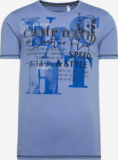 CAMP DAVID T-Shirt in blau, Produktansicht