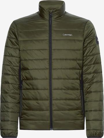 Calvin Klein Between-Season Jacket in Green