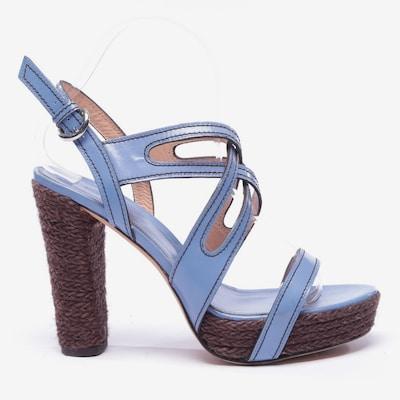 Sergio Rossi Sandaletten in 39 in blau, Produktansicht