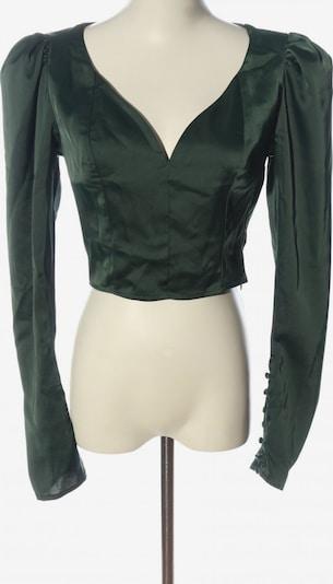 NA-KD Langarm-Bluse in S in khaki, Produktansicht