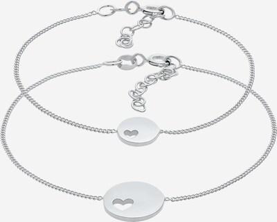 ELLI Armband Herz, Mutter und Kind in silber, Produktansicht