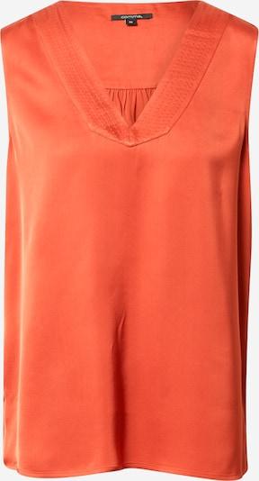COMMA Blūze, krāsa - tumši oranžs, Preces skats