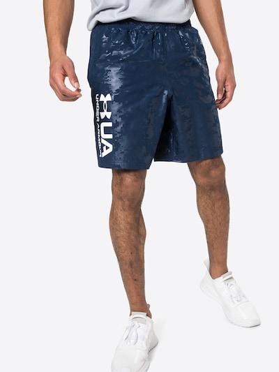 kék / tengerészkék UNDER ARMOUR Sportnadrágok, Modell nézet