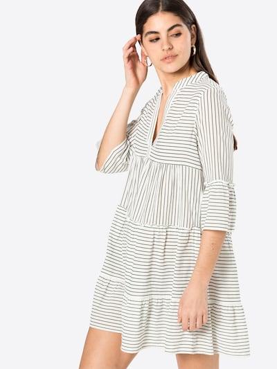 VERO MODA Kleid in beige / grau, Modelansicht