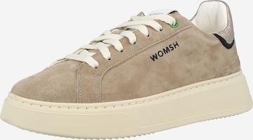 Sneaker low de la WOMSH pe bej