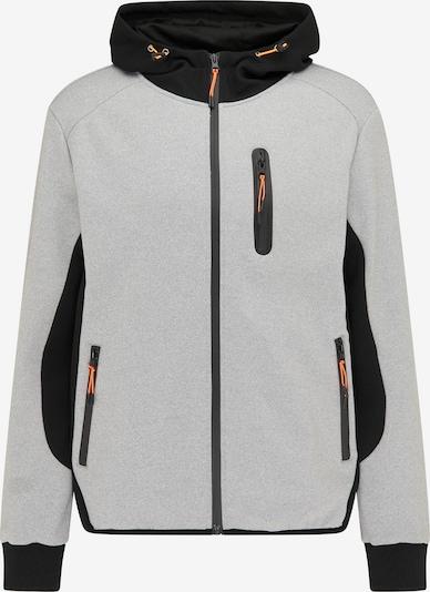 Mo SPORTS Between-season jacket in Light grey / Neon orange / Black, Item view