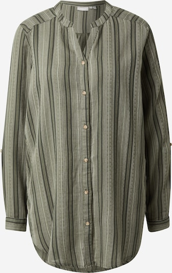 Bluză 'BAJOY' Fransa pe verde / verde pastel / verde închis, Vizualizare produs