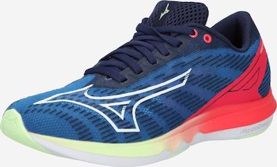 MIZUNO Running shoe in Blue / Dark blue / Grenadine / White, Item view