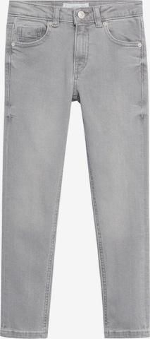 Jeans de la MANGO KIDS pe gri