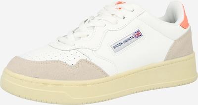 Sneaker low BRITISH KNIGHTS pe bej / alb, Vizualizare produs