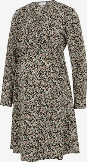 MAMALICIOUS Robe en olive / rose / noir / blanc, Vue avec produit