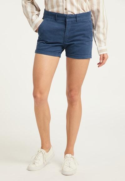 DreiMaster Vintage Shorts in blau, Modelansicht