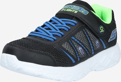 SKECHERS Sneaker 'DYNAMIC-FLASH' in royalblau / kiwi / schwarz, Produktansicht