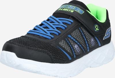 SKECHERS Sneakers 'DYNAMIC-FLASH' in Royal blue / Kiwi / Black, Item view