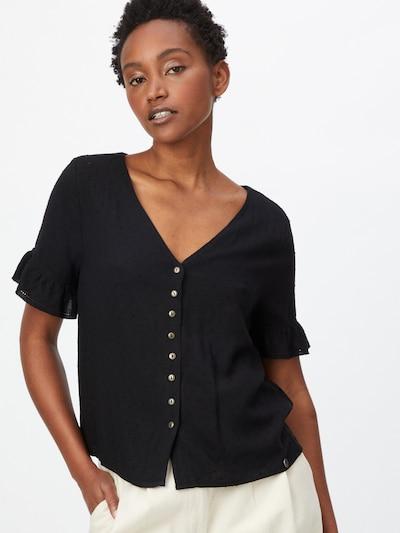 Superdry Bluse in schwarz, Modelansicht