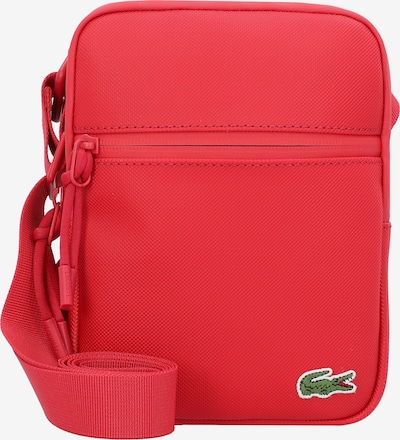 LACOSTE Schoudertas in de kleur Groen / Rood / Wit, Productweergave