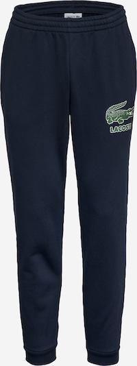 LACOSTE Broek in de kleur Navy / Groen / Wit, Productweergave