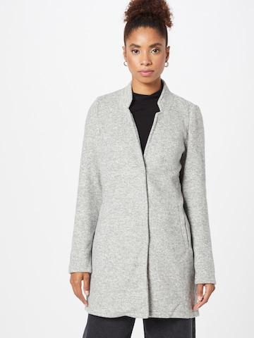 VERO MODA Prechodný kabát 'KATRINE' - Sivá