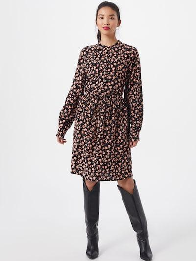 MOSS COPENHAGEN Kleid in rosa / schwarz, Modelansicht