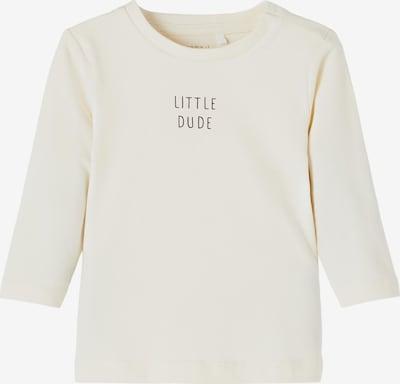 NAME IT Shirt 'Luke' in schwarz / naturweiß, Produktansicht