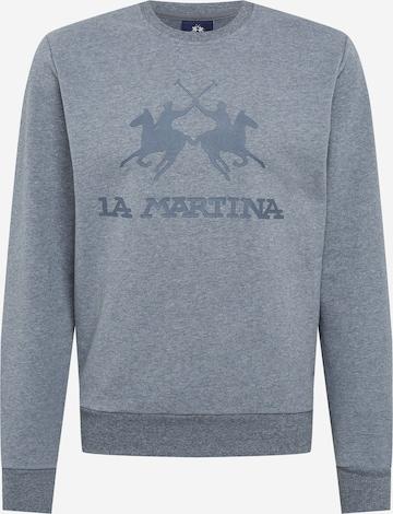 Bluză de molton de la La Martina pe gri
