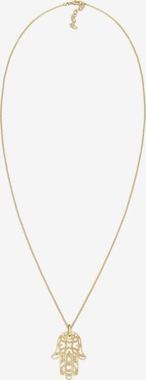 ELLI PREMIUM Halskette 'Hamsa Hand' in gold, Produktansicht