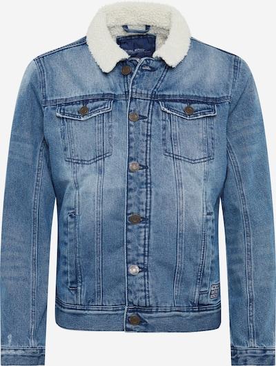 Demisezoninė striukė iš BLEND , spalva - tamsiai (džinso) mėlyna / vilnos balta, Prekių apžvalga