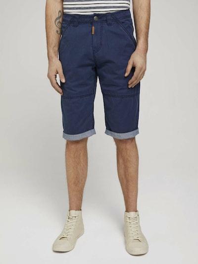 TOM TAILOR Chino hlače u tamno plava, Prikaz modela