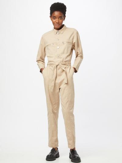 Tuta jumpsuit 'SOPHIE' JACQUELINE de YONG di colore beige, Visualizzazione modelli